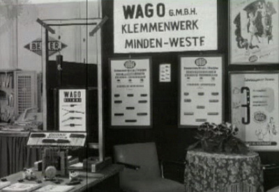 Wago на Hannover Messe 1977