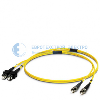 Изображение: PH2901834 FO patch cable - FL SM PATCH 5,0 SC-ST - 2901834